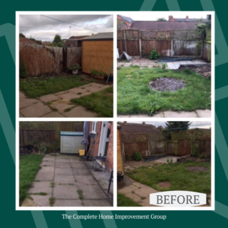Before-landscaping-project-for-garden-appeal